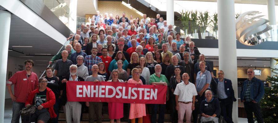Enhedslistens byrådsmedlemmer mødtes i Odense i august for at tale om kommunalpolitik og valgkamp.